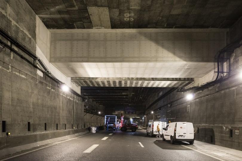 Le tunnel de l'A14 enfin aux normes de sécurité