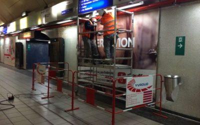 Renovation of the Auber Station (RER A Paris)